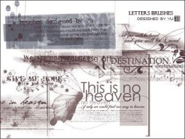 letter brushes by yu-resource