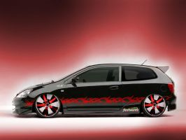 Fastworks New Civic by fastworks
