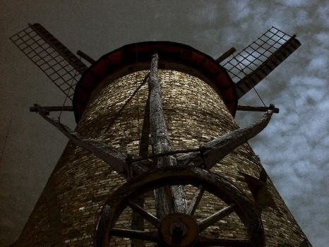 Windmill of Darkness by chryztoph