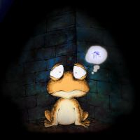 little poor toad by Tung-Monster