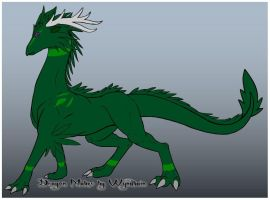 Flora the forest dragoness by DemonSheyd500025