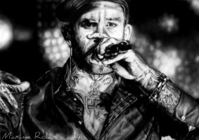 Ben Saunders drawing by maximerokus