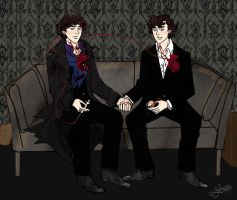 The Two Sherlocks by Dee-Linquent