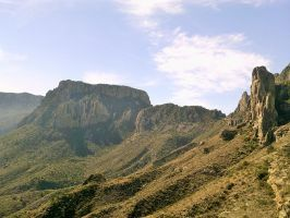 Mountains (1) in Big Bend, TX by my-dog-corky