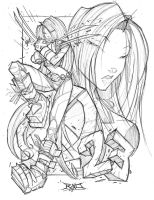 X-23 by Rob Duenas by hierojux