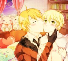 APH: Kiss by RuminE