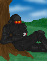 A Helghast Dream by Ryukky
