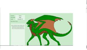 Daire- Earth Dragon OC by dragonfreak1112