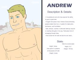 Character Profile: Andrew by falchiongamma