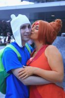 Flame Princess and Finn by Kilayi