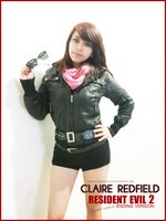 Claire Redfield cosplay :RE 2 Ending Version: prev by VickyxRedfield