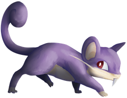 019 Rattata by WhatCritter