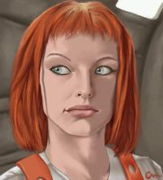 LeeLoo by chrismickens
