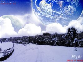 Snow in my country by billypic