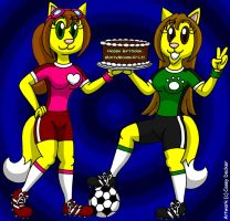 Amanda and Rachel - Birthday Soccer Gals by CaseyDecker