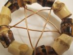 Bamboo and Wire Pentacle Closeup by Windthin