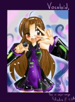VOCALOID3 .:Andre-Chan:. by Hibarinrinrin