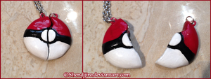 Pokeball Friendship Charms by Shendijiro