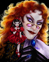 The Vampire and Mouse Maiden by FairyGodfather