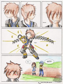 :Sora's Dirty Little Secret: by BlackCatINK