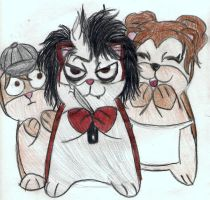 Sweeny Todd: Hamster style by mystiquefox13