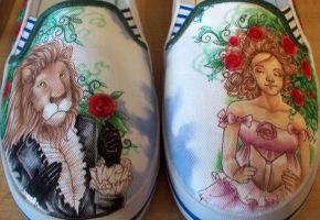 SHOES: Beauty and the Beast by yurchan