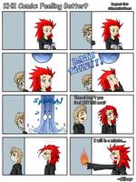 KH2 Comic: Feeling Better? by Silverookami