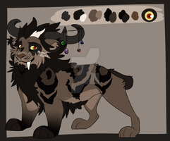 Demon Lion Auction - closed by MikacesAdopts