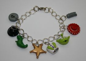 Toy Story Charm Bracelet by LittleLoveInc