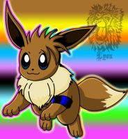 Foster, my Eevee by TheDocRoach