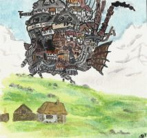 Howl's Moving Castle by keats18
