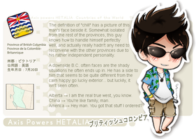 ++ APH:: B.C. Profile Card. by ephemeralDELUSiON