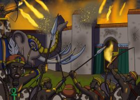 The Fall of Rome by DaBrandonSphere