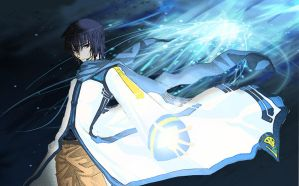 Ikuto in Vocaloid by CakePrincess21