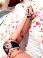 Robot leg make up by Arisusandasu