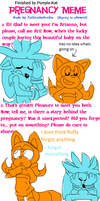 Prego Meme Silver messed up lol by Purrple-Kat