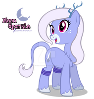Trade: Ponified Unideer Moon Sparkle by LisaJennifer