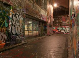 Hosier Lane 2 by djzontheball