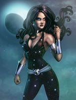 Donna Troy Colored-Commission by JamieFayX