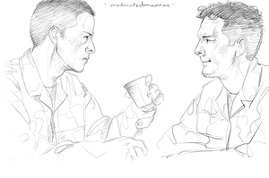 SoldierAU: Castiel and Balthazar by MedicatedManiac