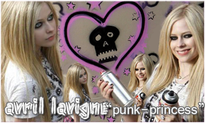 "Avril a ""Punk-Princess"" by vams"