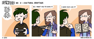 ISYWOODSTRIP No. 2 - Cultural Heritage by isywood