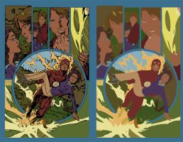 The Flash Sequential flats by alexasrosa
