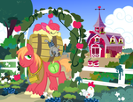 Peter New Request/ Early Morning Market by PixelKitties