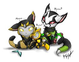 :Purrrfect Family: by peanutchan
