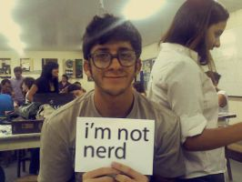 i'm not nerd by hidden-silly