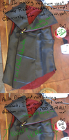 SPG asymmetrical vest WIP- I need SEWING advice! by Emmi-Kat