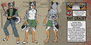Ray Gracey ref by ZackLoup