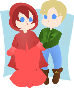 Roux and Leon Request by KatelynVillage