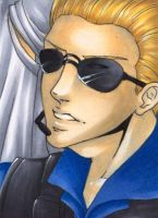 Albert Wesker by TheJenno92